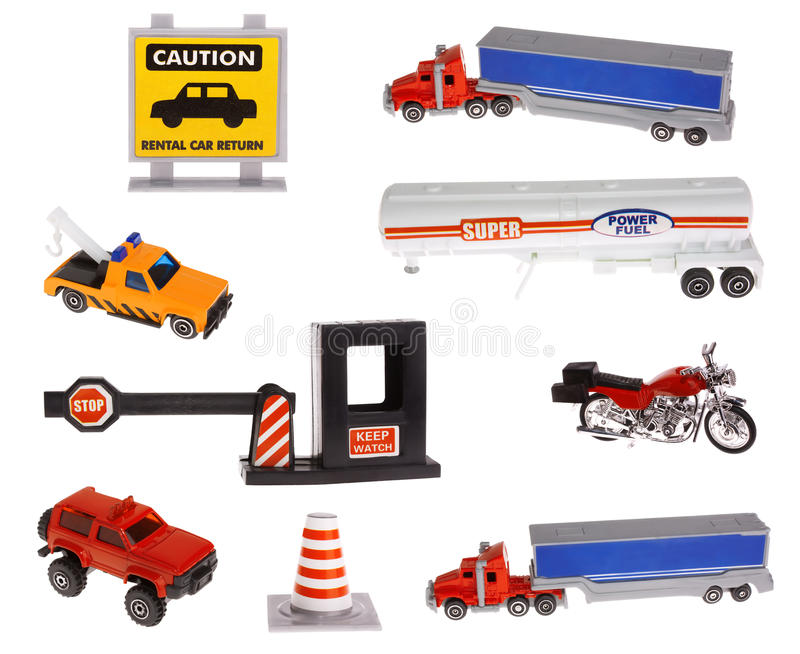 Road sign and transportations royalty free stock image
