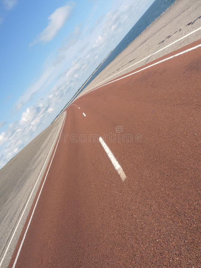 Download Road and the sky stock image. Image of cloud, horizon - 16084661