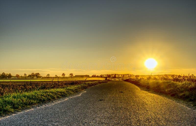Road, Sky, Yellow, Horizon royalty free stock images