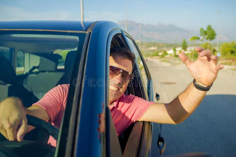 Road stress stock image