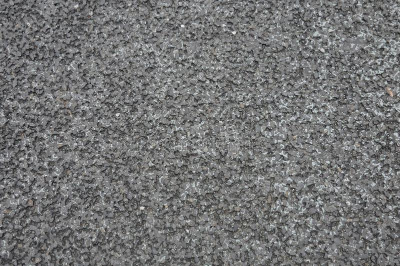 Road surface made from asphalt is a product of crude oil production. Giving good adhesion, soft, quiet stock image