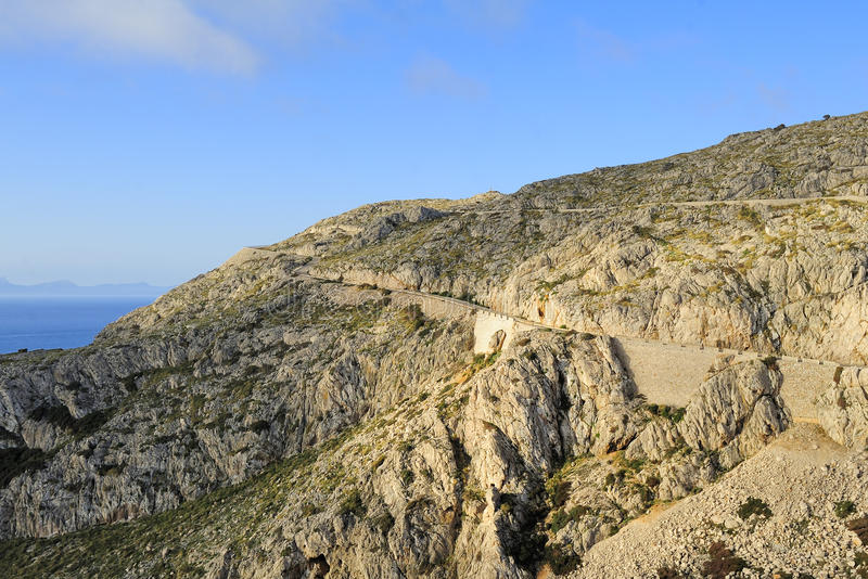 Download Road To Cape Formentor (Majorca, Spain) Stock Image - Image: 27457917