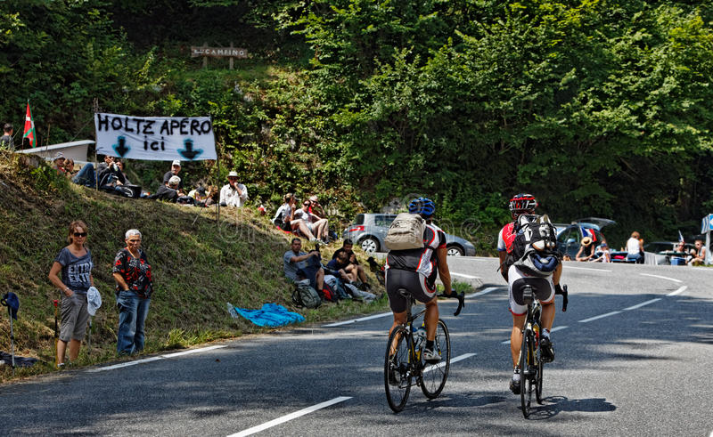 Download On The Road To Col D'Aubisque Editorial Stock Image - Image: 24934454