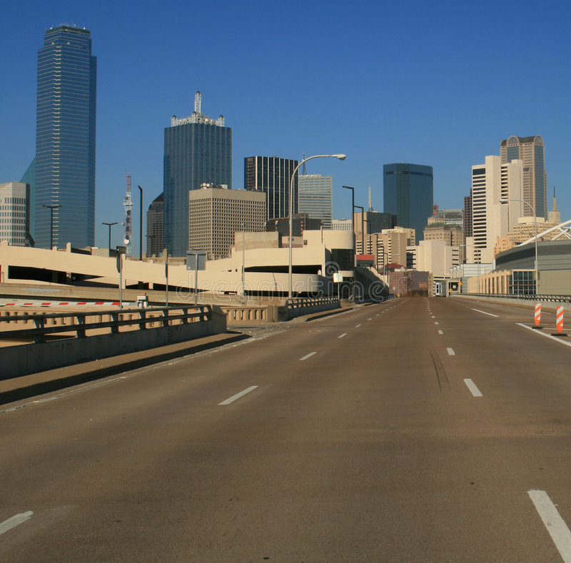 Download Road to Dallas stock photo. Image of west, south, district - 1561922