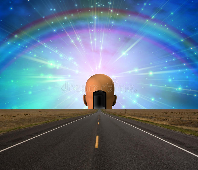 Download Road to enlightenment stock illustration. Image of background - 11973334