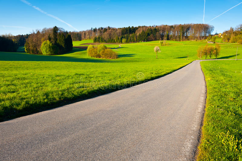 Download Road to the Farmhouse stock image. Image of ground, farmhouse - 25130465