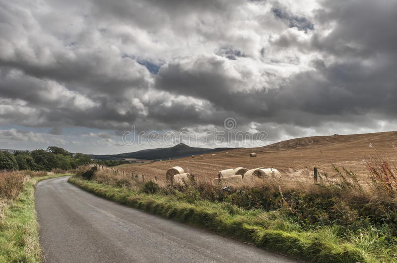The Road To Glenrothes stock photography