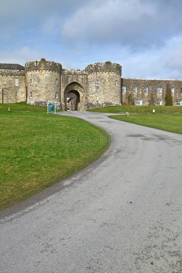 Download Road to Glenstal Abbey stock image. Image of fort, eire - 18685915