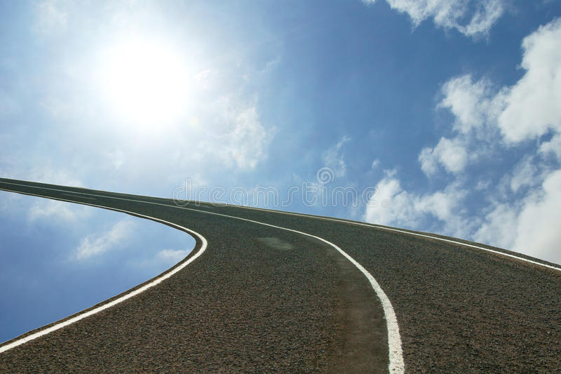 Download Road to heaven stock image. Image of background, concept - 15925227