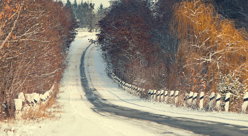 Download Road to hill stock photo. Image of trees, nobody, asphalt - 22919426