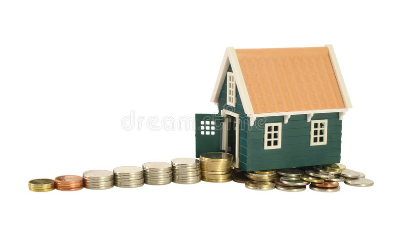 Road to homeownership 2 royalty free stock photography