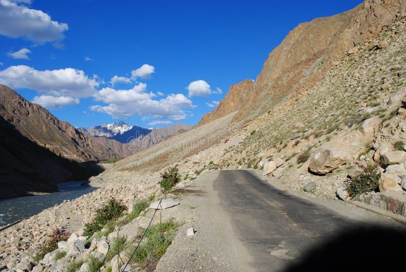 Download Road to Ladakh terrain stock image. Image of landscape - 17676849