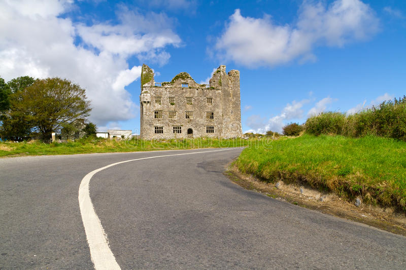 Download Road to Leamaneh castle stock image. Image of tourism - 21069553