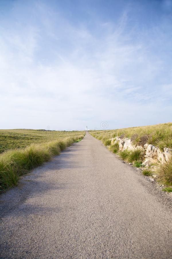 Free Road To Lighthouse Stock Image - 18489211