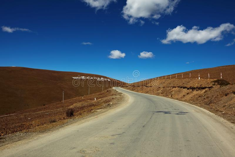 Download Road to  mountain stock photo. Image of path, mountain - 17376348