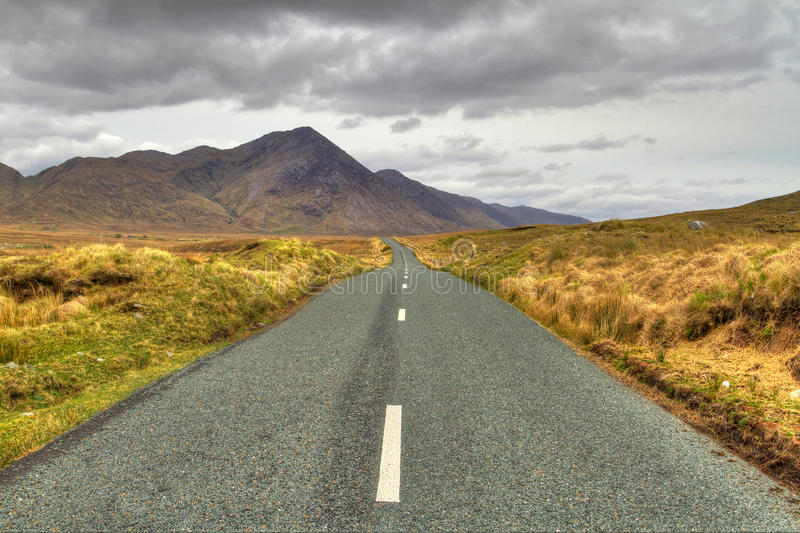 Download Road to the mountains stock image. Image of path, galway - 24574129