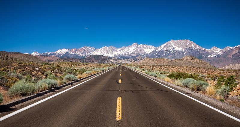Road to the Mountains royalty free stock photo