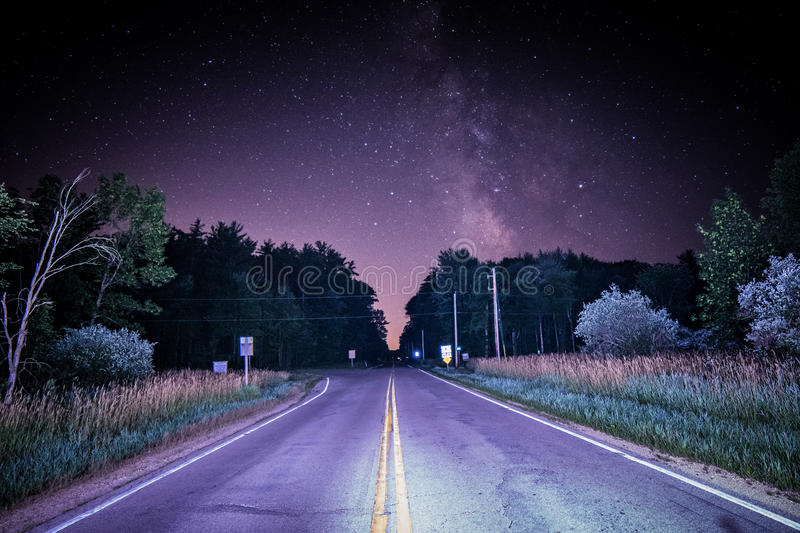 The Road to nowhere royalty free stock images