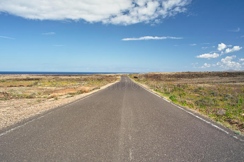 Download Road To Ocean Stock Photo - Image: 19818980