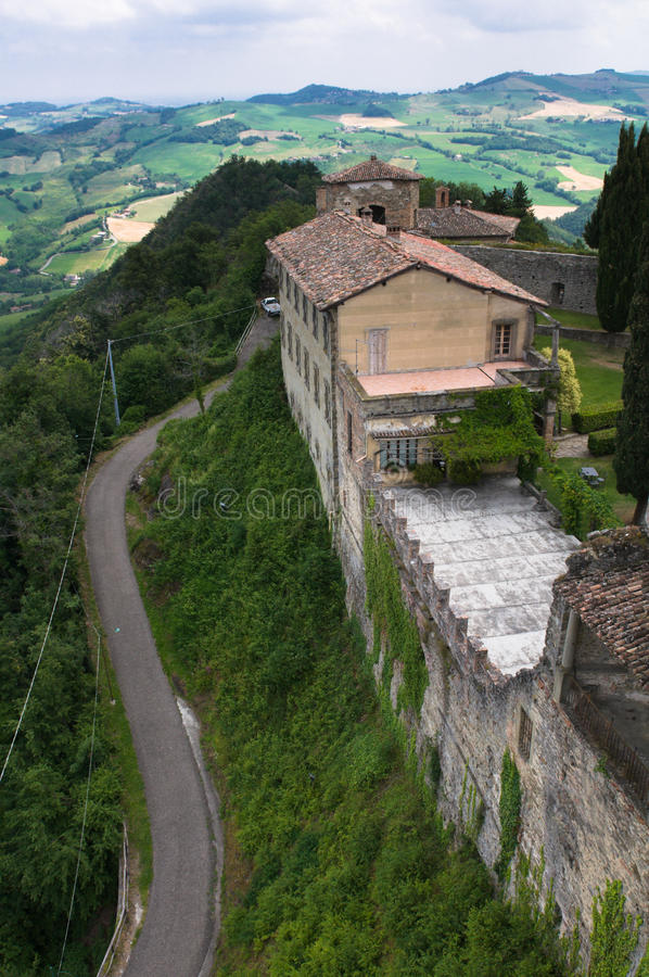 Download Road to the old castle stock photo. Image of roof, tourism - 26067814