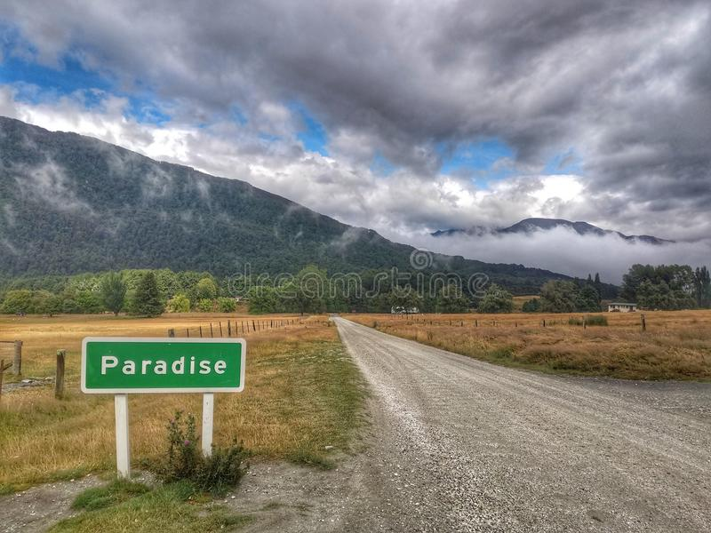 Road to Paradise royalty free stock photography