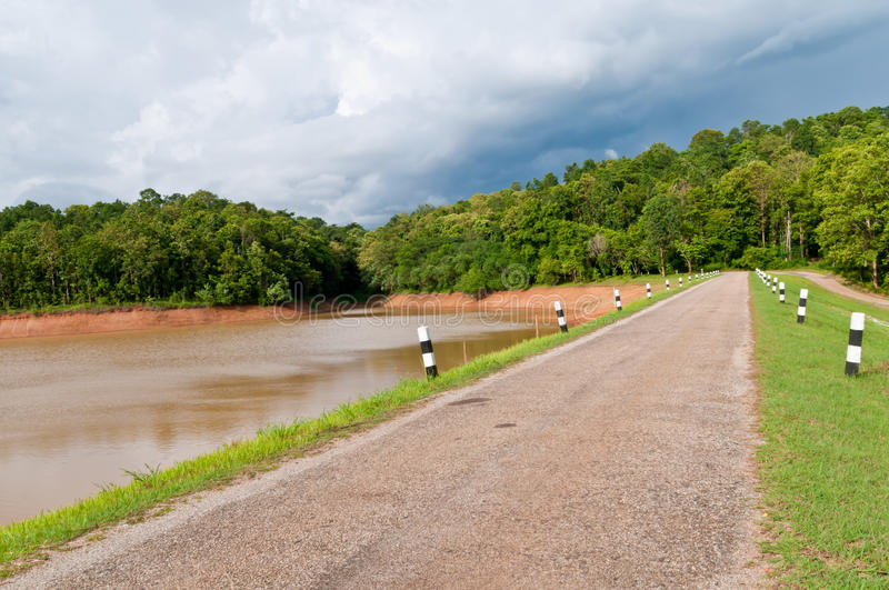 Download Road to Reservoir. stock photo. Image of panorama, ecology - 25646504