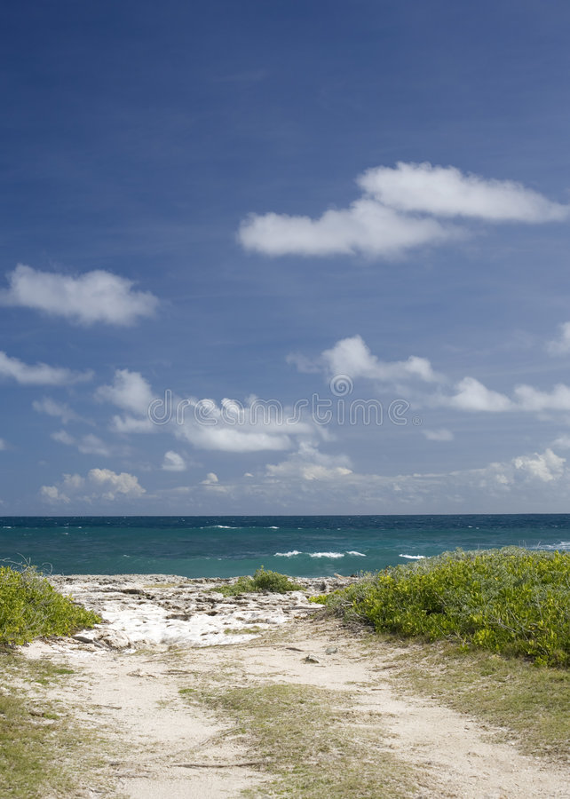 Free Road To Sea Stock Photo - 5059080