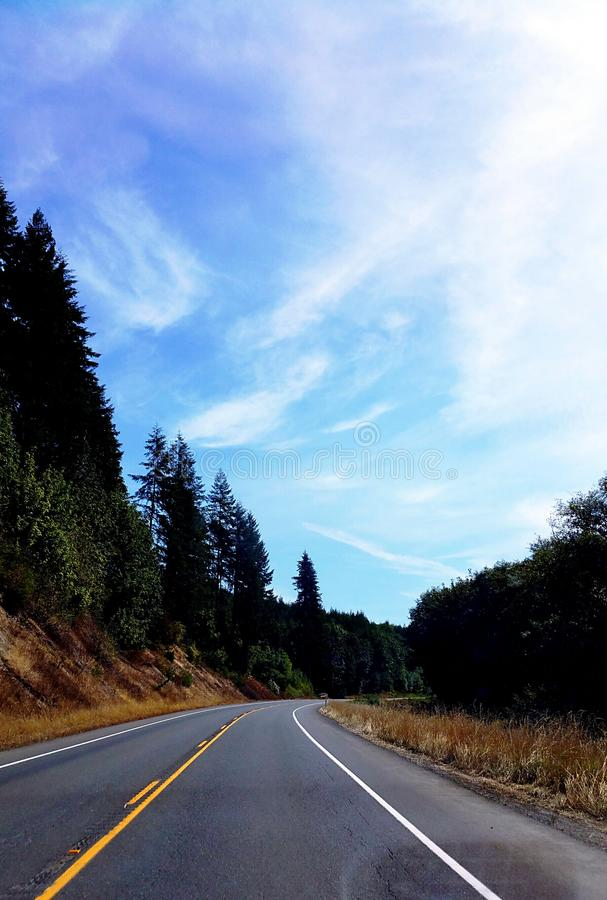 The Road To Somewhere.... royalty free stock photography