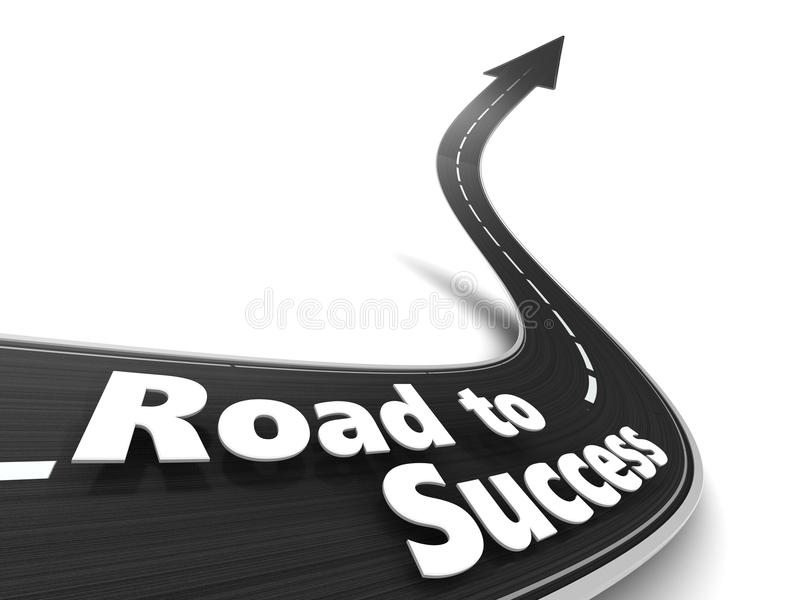 Pathway to Success Clip Art
