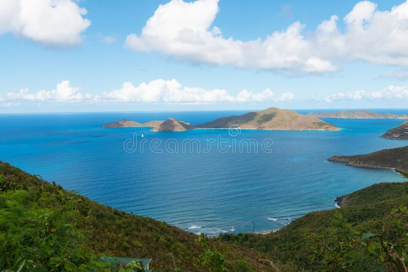 Road Town, Tortola. Road Town, Baughers Bay, Tortola, British Virgin Islands royalty free stock images