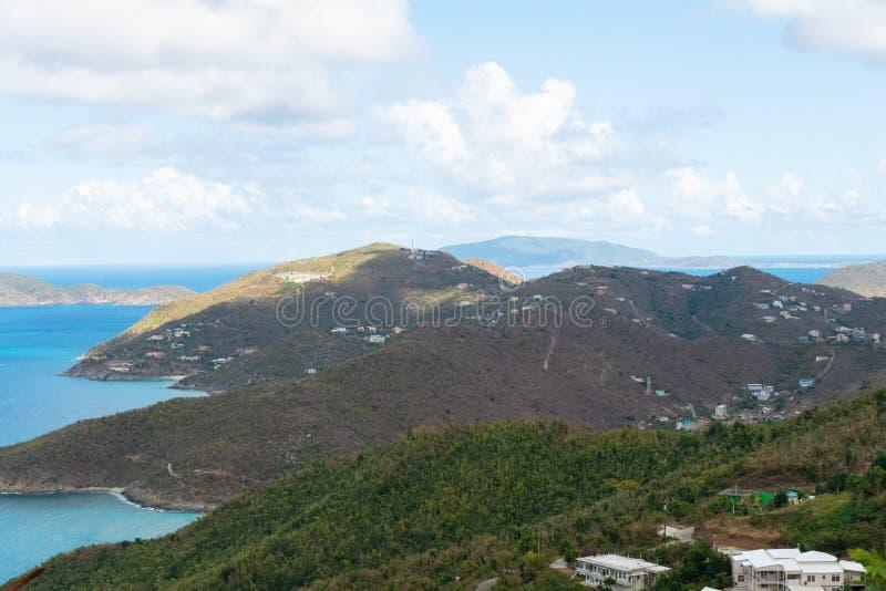 Road Town, Tortola. Road Town, Baughers Bay, Tortola, British Virgin Islands stock photo