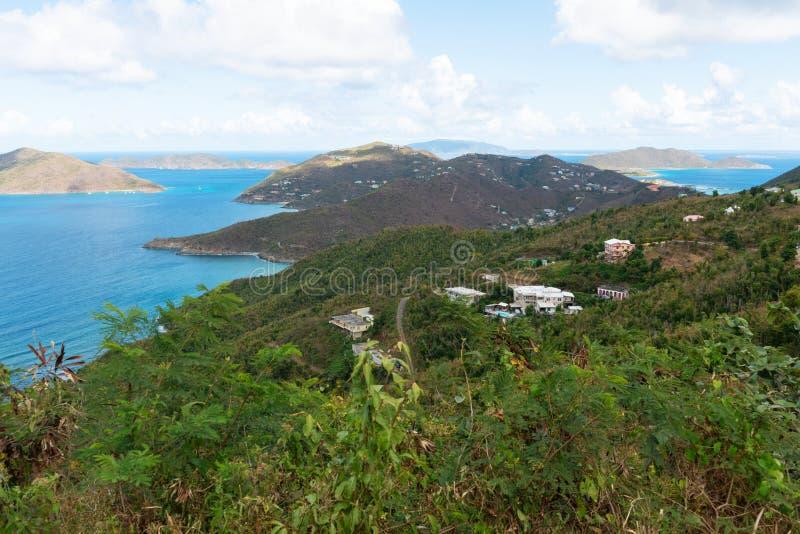 Road Town, Tortola. Road Town, Baughers Bay, Tortola, British Virgin Islands stock image