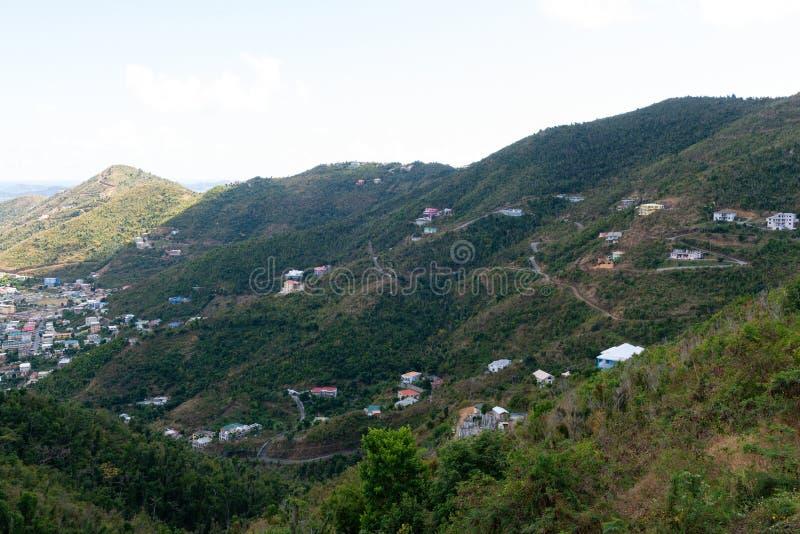 Road Town, Tortola. Road Town, Baughers Bay, Tortola, British Virgin Islands royalty free stock image