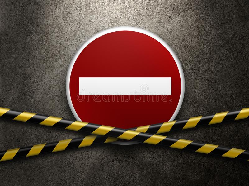 Road traffic sign. Computational graphic - Please look at my portfolio other kinds exist vector illustration
