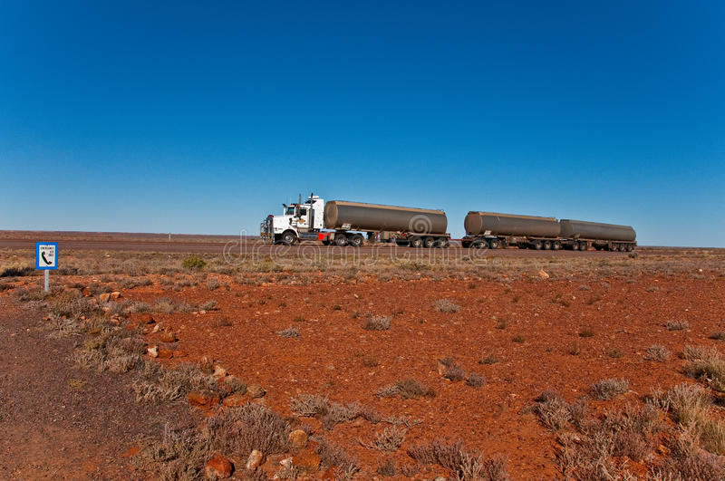 Download Road train stock image. Image of travel, speed, outback - 16831895
