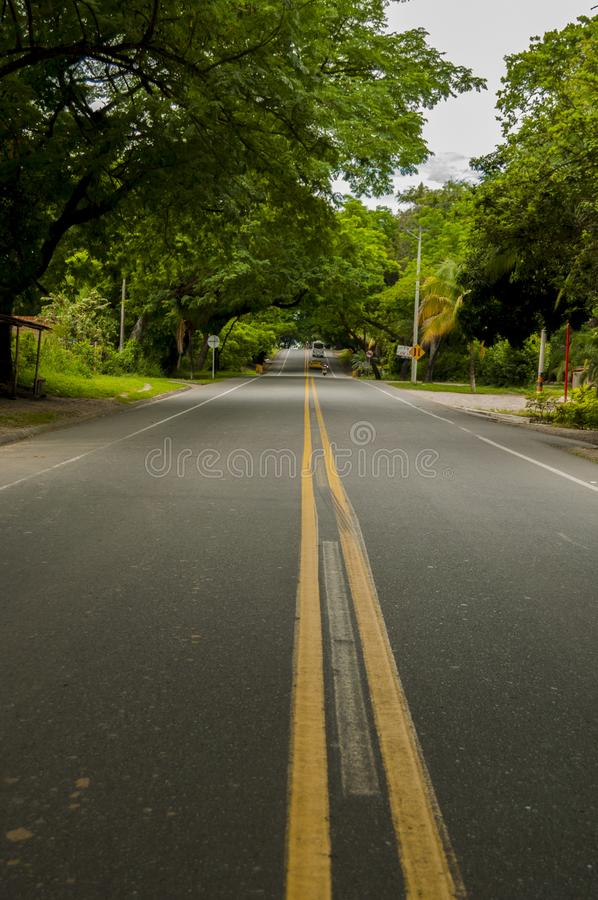 Road trip in huila stock images