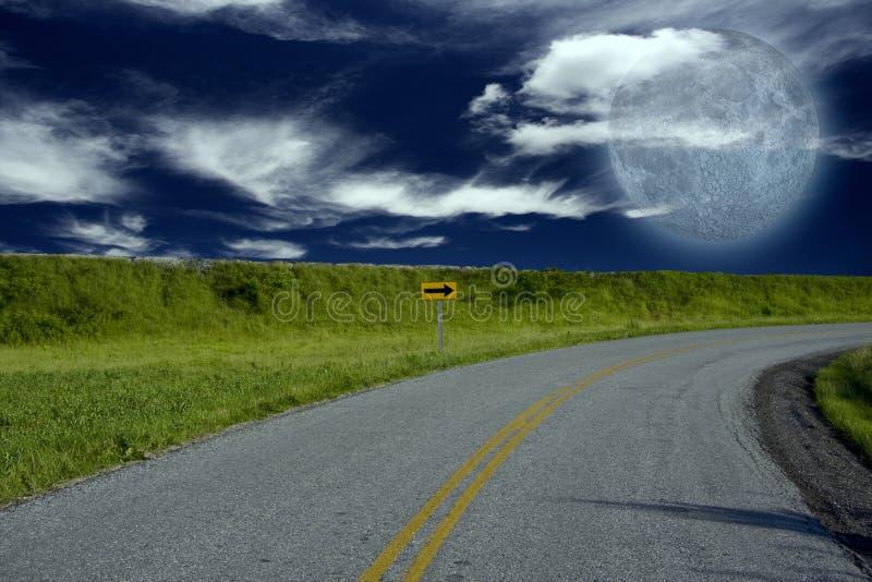 Download Road Turn stock image. Image of cloud, beautiful, faith - 16862641