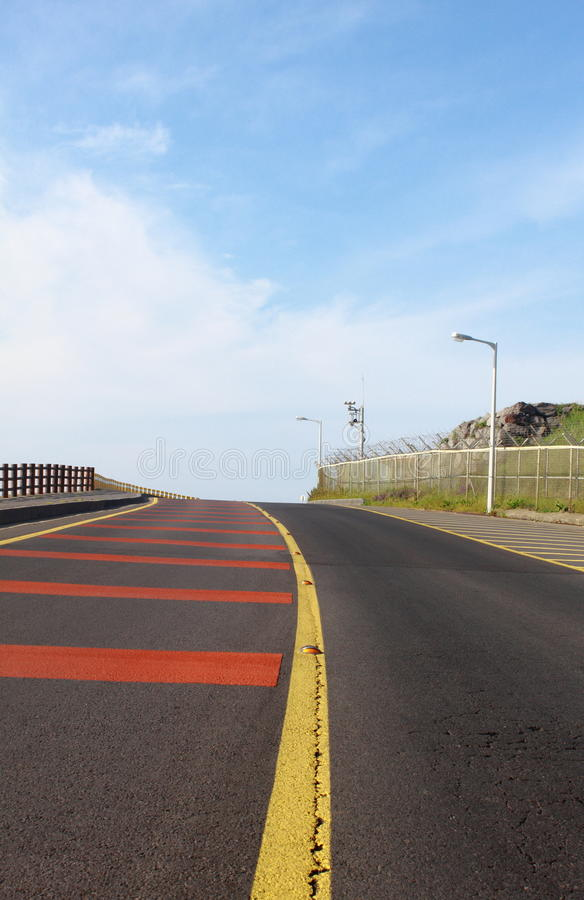 Download Road under blue sky stock photo. Image of city, clear - 25051440