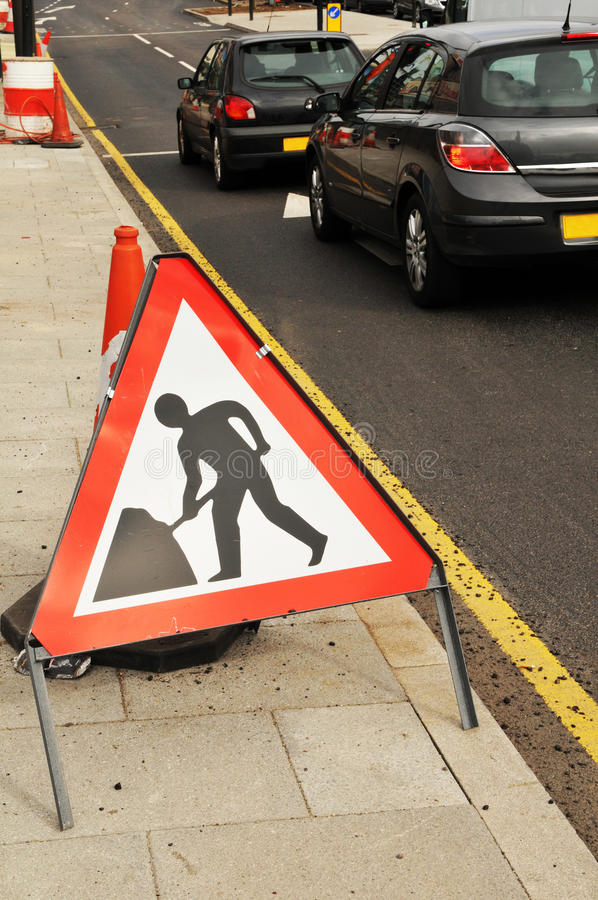 Download Road under construction stock photo. Image of streets - 18770318