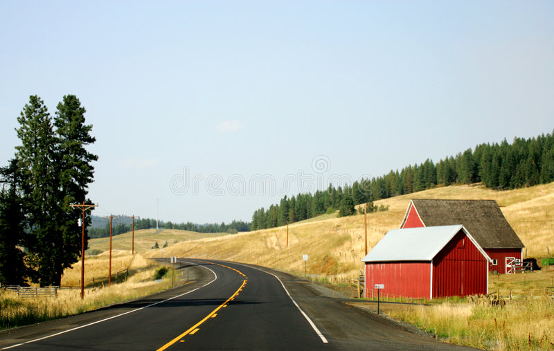 Road USA stock images
