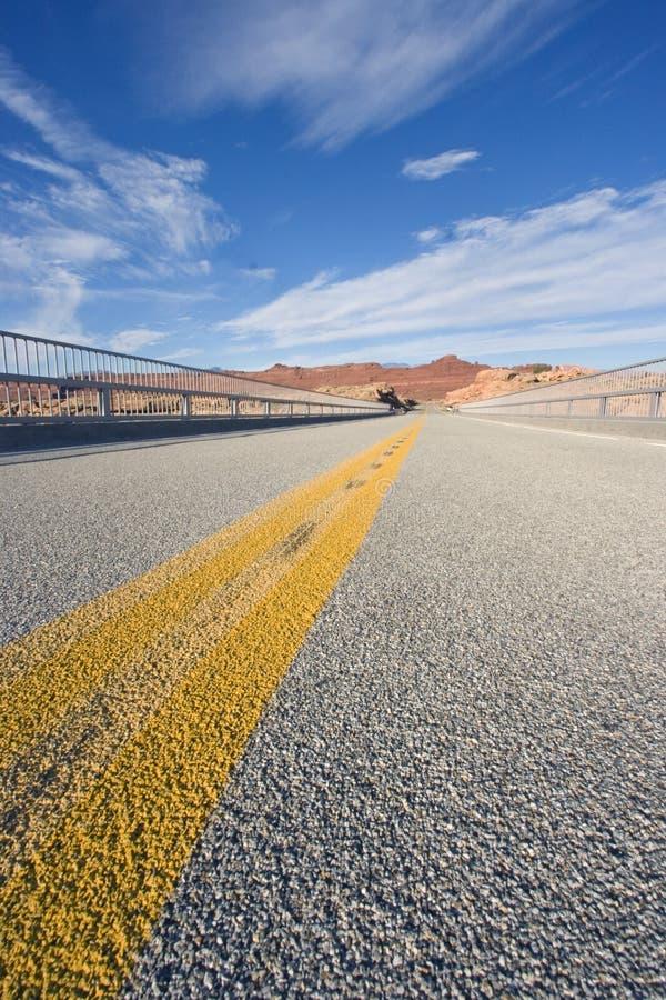 Road in Utah stock photography