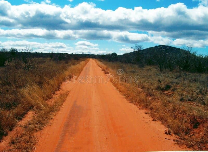 Road van Afrikaan royalty-vrije stock foto's