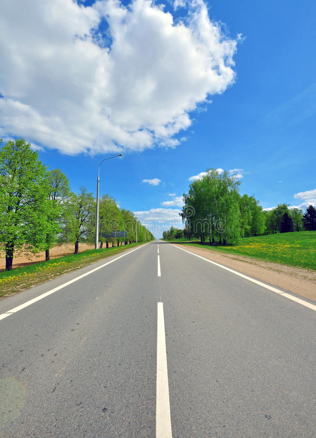 Download Road view stock photo. Image of highway, meadow, roadway - 40349660
