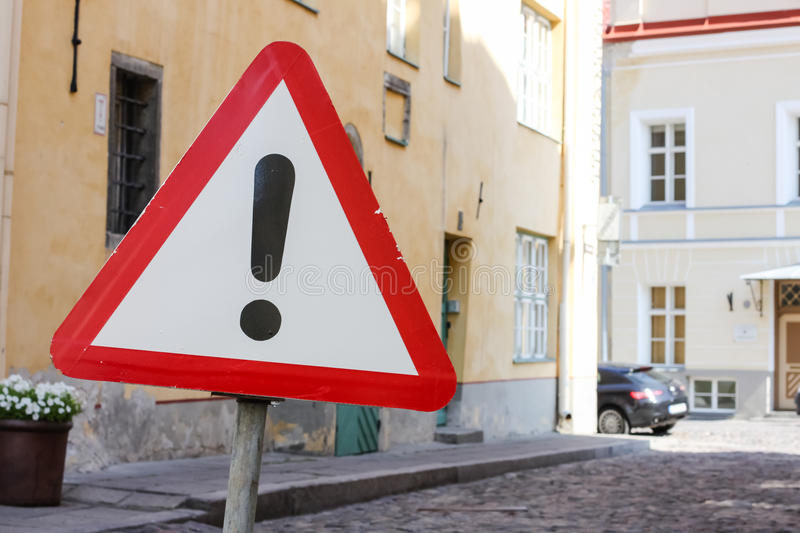 Download Road Warning Sign Other Danger Stock Photo - Image: 26208108