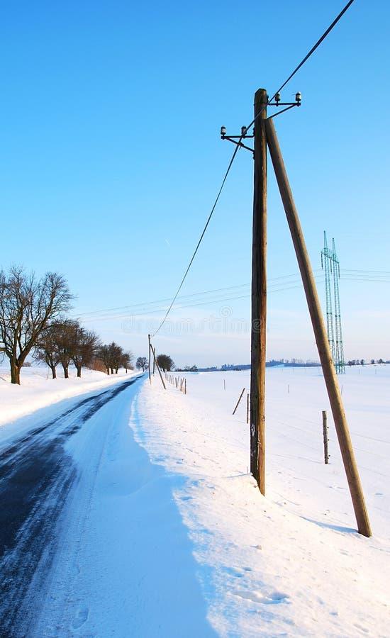 Road At Winter Stock Image
