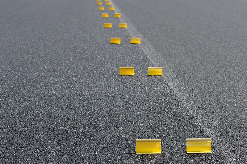 Road work abstract royalty free stock images