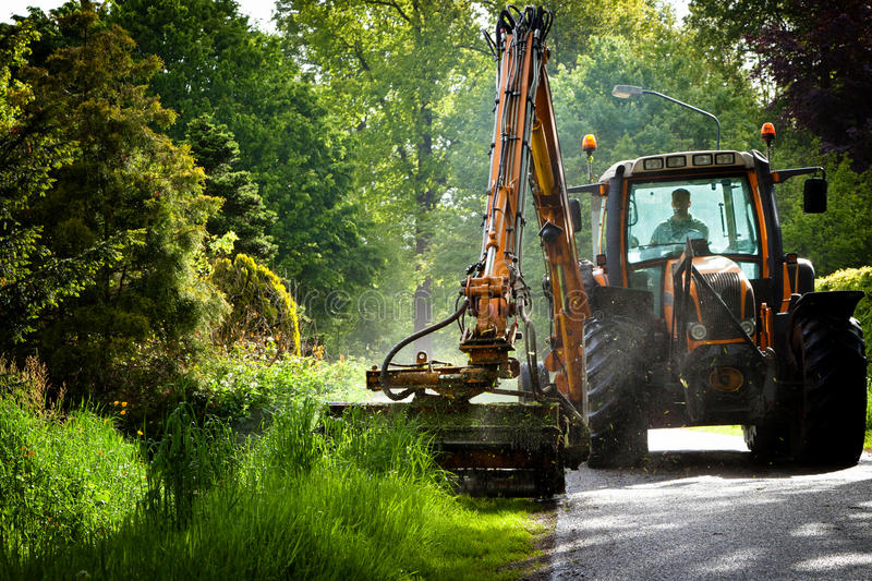 Download Road work in progress stock image. Image of outdoors - 35432843