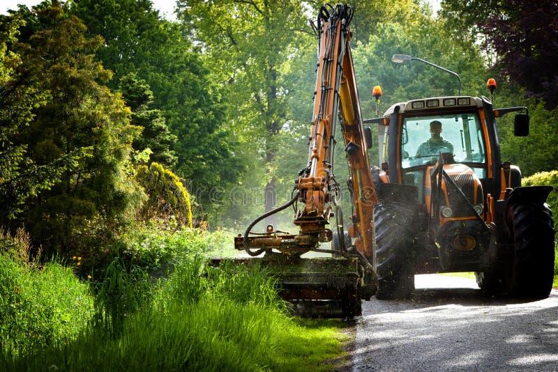 Road work in progress