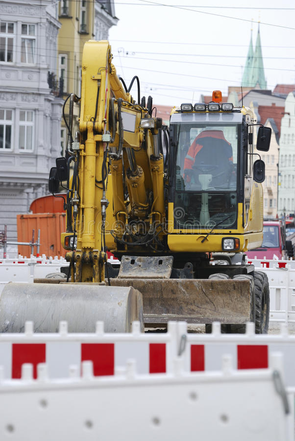 Download Road Works Royalty Free Stock Photography - Image: 24266477
