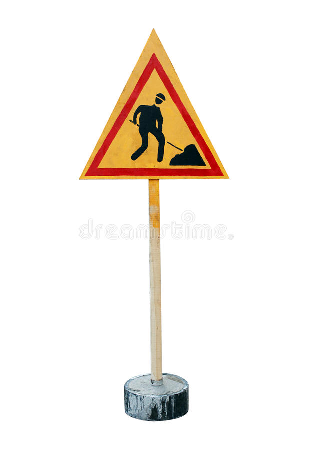 Download Road Works Sign Stock Image - Image: 16919791